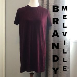 Brandy Melville knitted t-shirt dress